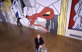 روی لیکتنستاین (Roy Lichtenstein): دیوارنگاری خیابان گرین (Greene street Mural)، گالری گاگوسیان، نیویورک
