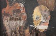 اثری از هنرمند فقید شیوا عینی