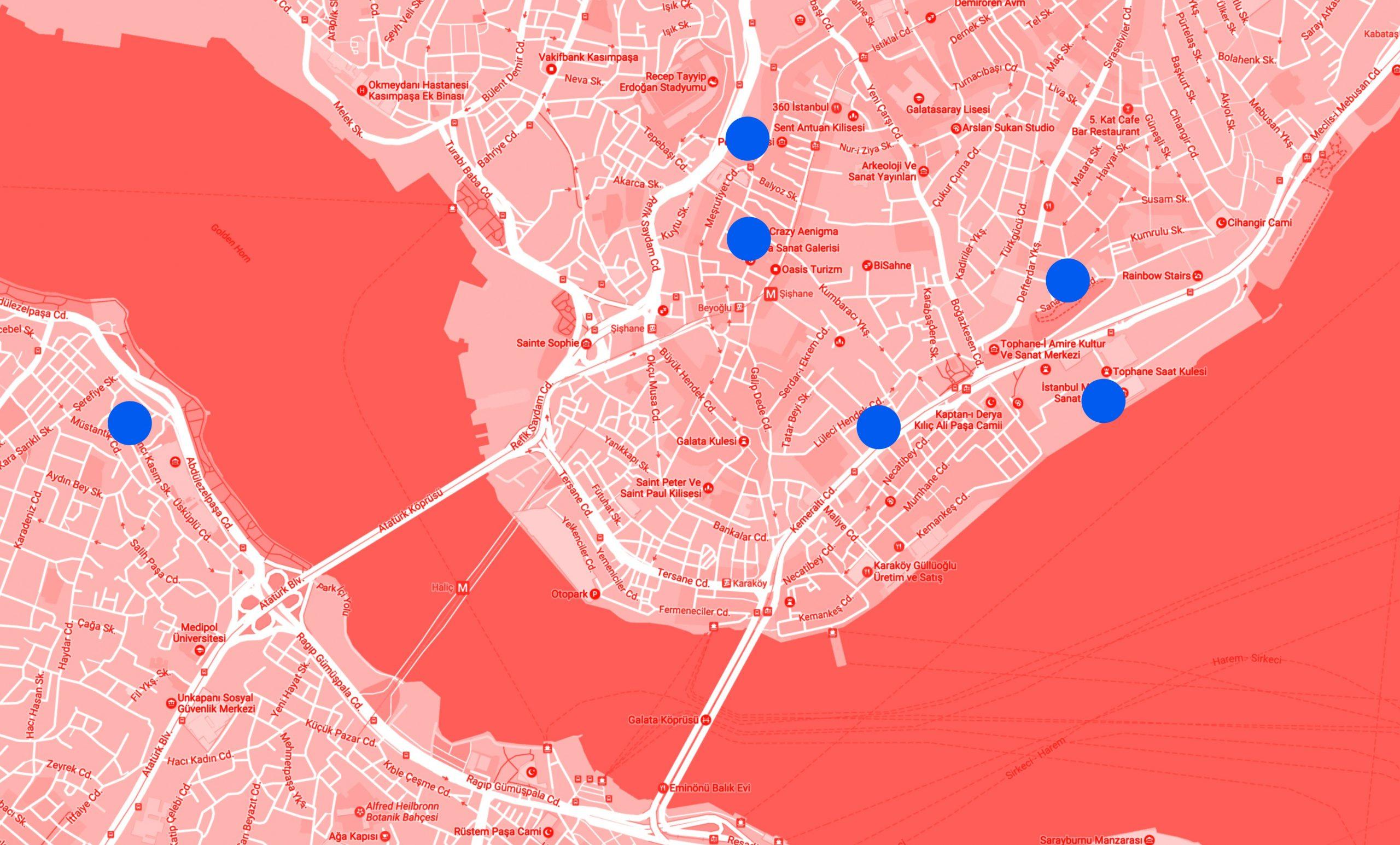 ۱۵th-Istanbul-Biennial-Venue-Map
