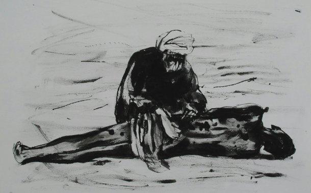 طراحیهای جواد مدرسی  برای حلب-سمانه سرچمی( گالری آرتینِمشهد)