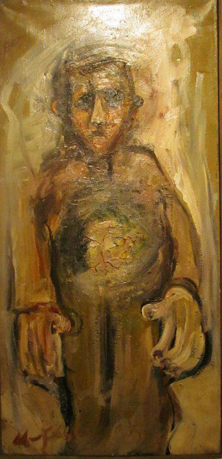 فرهنگ مردم روی بوم(تحلیلی بر نمایشگاه نقاشی محمد فاسونکی در گالری هور) نویسنده:شروین کندری