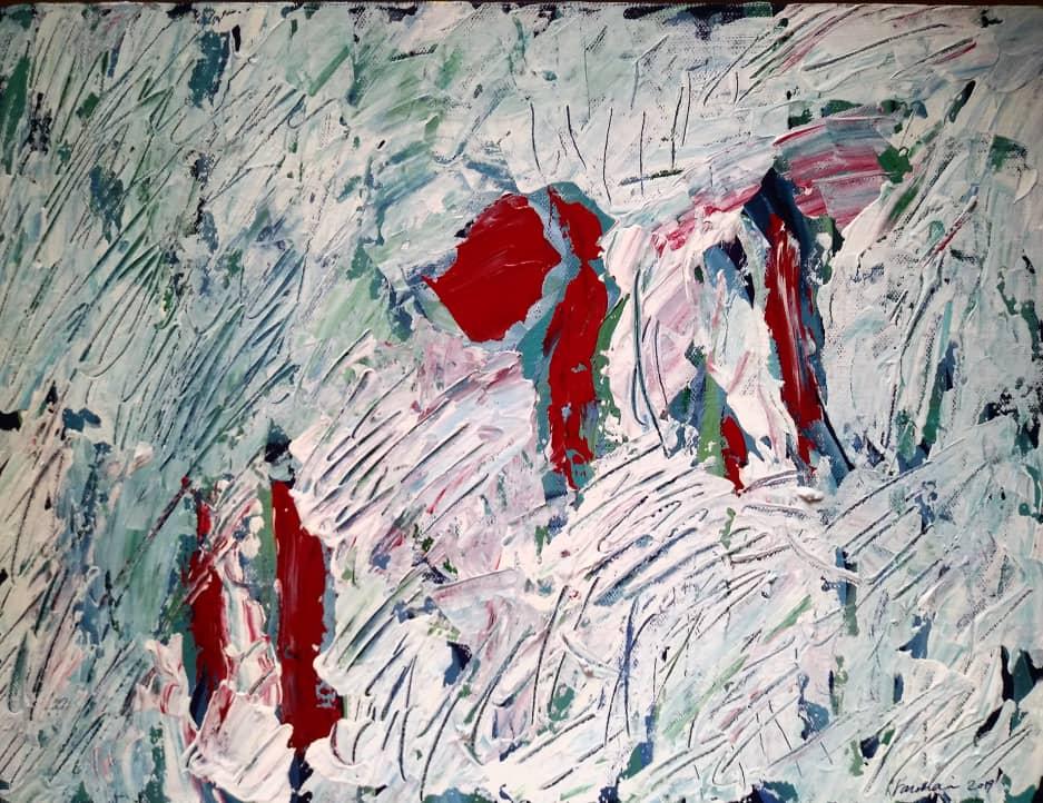 اکریلیک روی بوم, ۳۰×۴۰ سانتیمتر, ۱۳۹۸