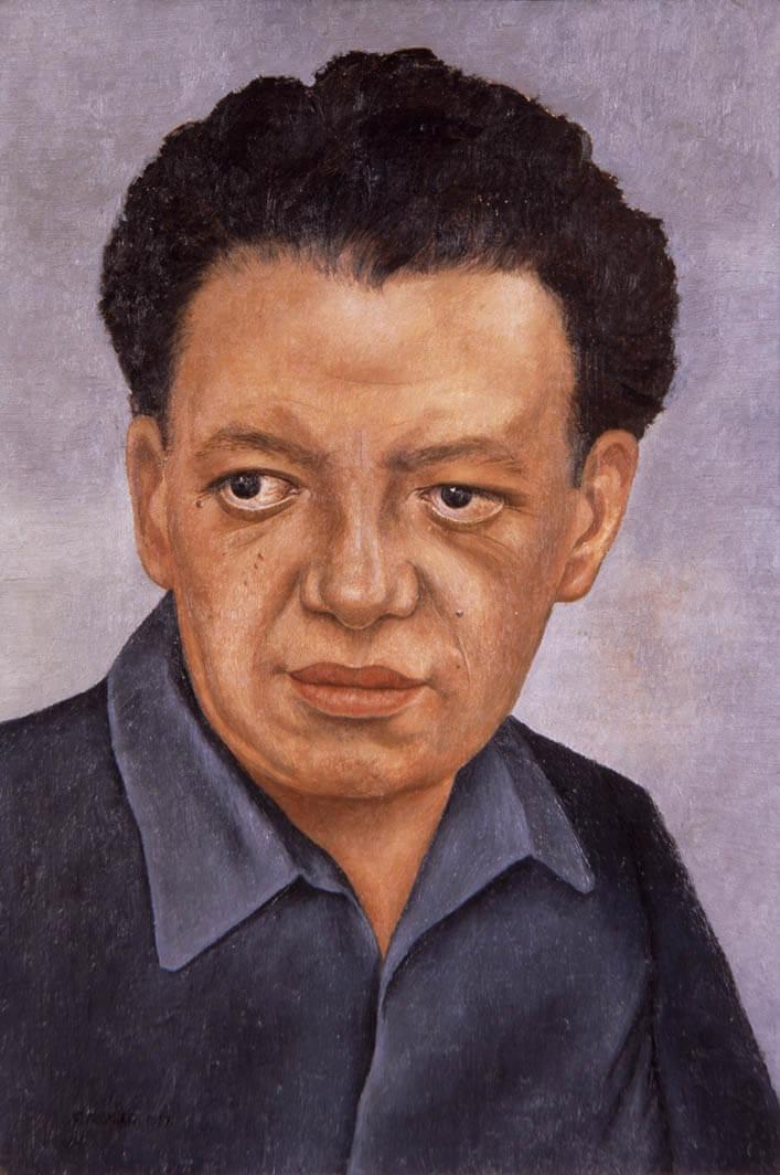 ۰۲- Portrait of Diego Rivera