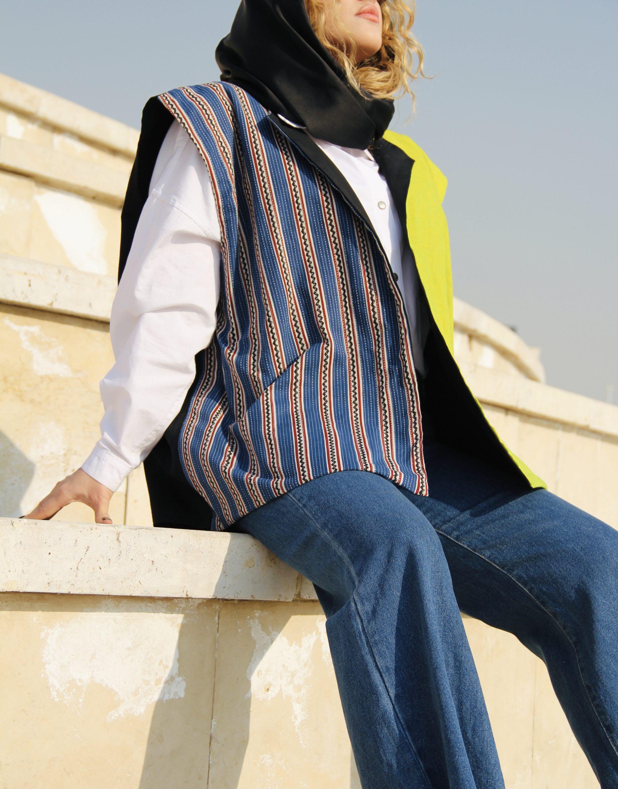 جلیقه مهم ترین و رایج ترین پوشش زنان و مردان مشرق زمین