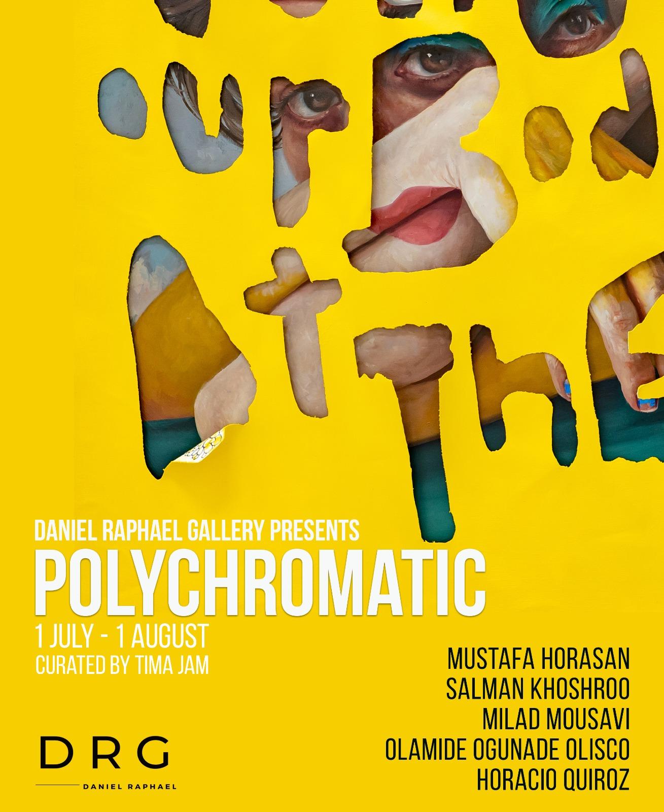 """نمایشگاه آنلاین """"Polychromatic"""" :پنجشنبه ۱۰ تیر"""